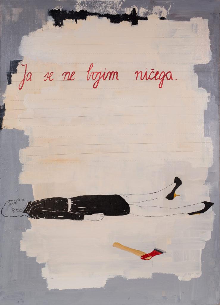Paulina Jazvic, Lauba, Ja se ne bojim ničega